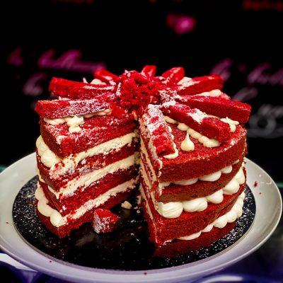 Κέικ Red Velvet online delivery Καρδίτσα